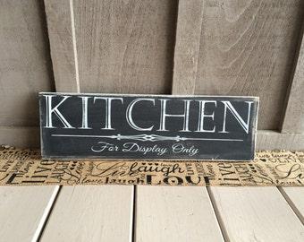 Kitchen Wood Sign // kitchen // kitchen sign // kitchen decor // kitchen humor // kitchen wall art