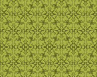 Green Blender - Per Yd -Red Rooster - Adalee's Garden - perfect for Autumn Song