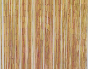 Natural bamboo curtain 90 strands