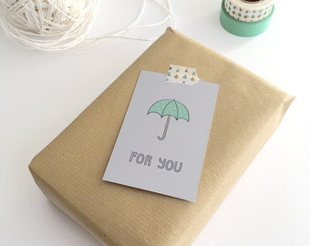 Gift Cards 10 pieces / For You (5,5 x 8,5 cm)