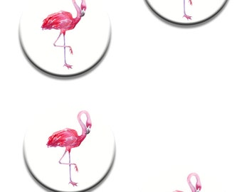 A Pack of 4 Flamingo Designed Pattern Weights Like on the TV Sewing bee