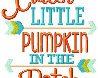 Cutest Little Pumpkin in the Patch Shirt, Fall Shirt