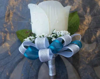 Sharks Inspired Boutonniere