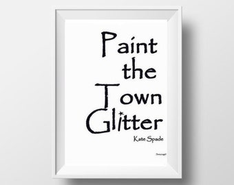 Kate Spade Wall Decor kate spade decal | etsy