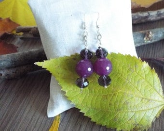 Cyclamen Earrings