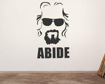 The Dude Abides - Vinyl Decal Wall Art
