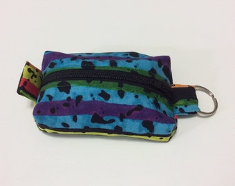 Teeny Tiny Zipper Pouch for Money, Earbuds, Etc