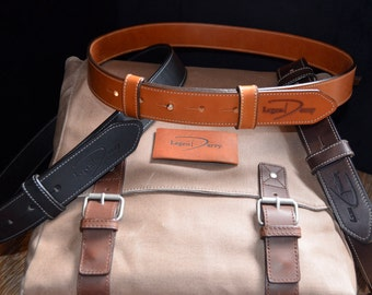 No-Sho Leather Buckle-less Belts