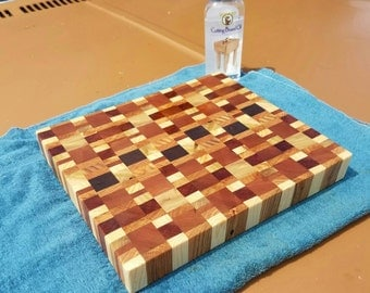 Reclaimed Random Pattern Cutting Board