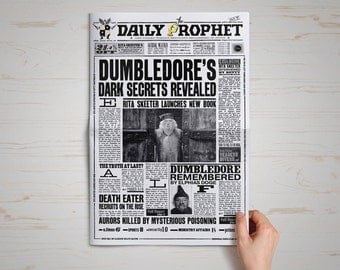 Daily Prophet Newspaper Harry Potter