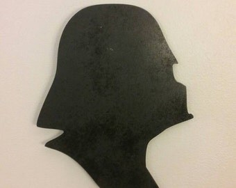 Darth Vader Wood Silhouette