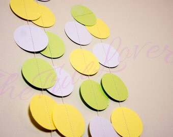 Garland, Paper Garland, Bridal Shower, Baby Shower, Birthday Decor, Birthday, Paper String decoration