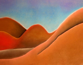 Those gently sloping dunes