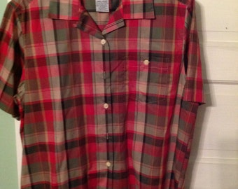 shirt, plaid, vintage