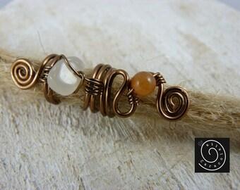 Dread bead 'Magic' Rasta jewelry dread jewelry dread swirl