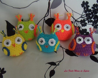 Little OWL in crochet cotton