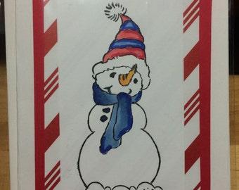 Snowman Card set of 10