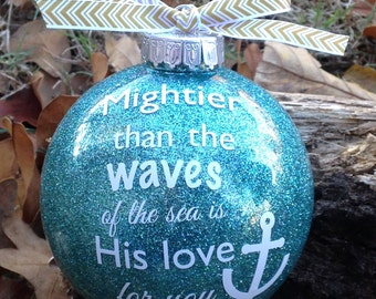 Bible verse ornament
