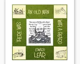 Edward Lear - king of nonsense - a portrait