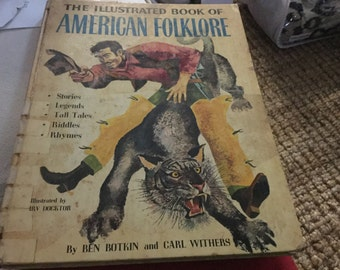 The Illustrated book of American Folklore, 1958