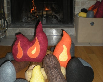 Plush Campfire Set- Small