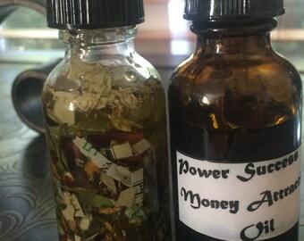 Power Success Money Attraction Oil