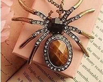 Beautiful Spider Necklace