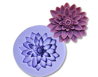 3D Chrysanthemum Cake Decorating Mold