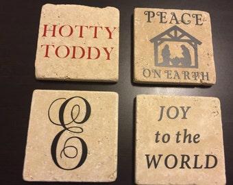 4x4 Personalized Stone Coasters