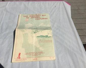 1970 Nautical chart
