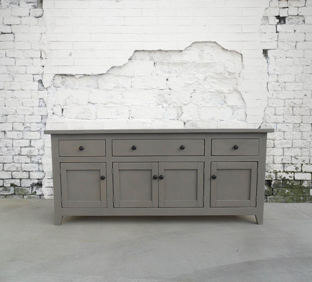 Media Console Sideboard Buffet Reclaimed Wood Console