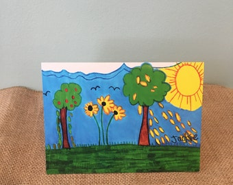 Summer Time card