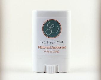 Tea Tree - Mint Natural Deodorant Sample