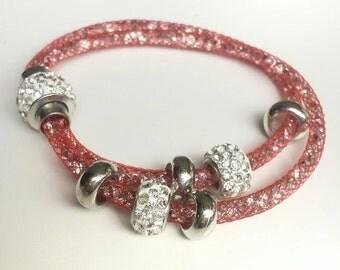 Stardust bracelet red