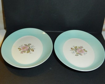 Unmarked very pretty serving Platters, Set of Two