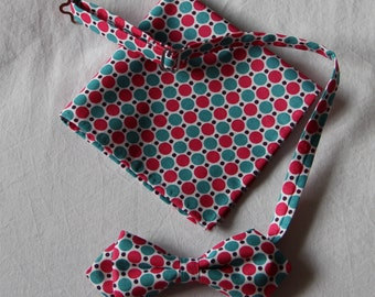 Bow tie man and the pouch