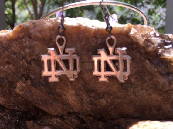 Notre Dame Antique Silver Earrings