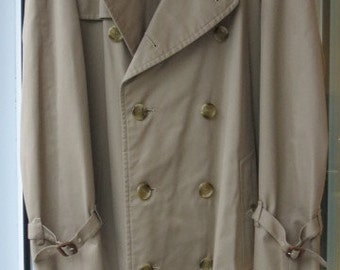 Vintage Men's Burberry Trench Coat