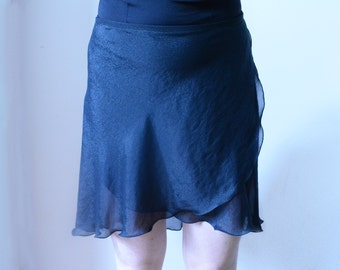SHIMMER wrap skirt - Chiffon skirt - Balletwear - Dancewear