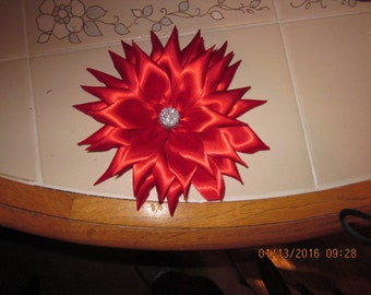 Kanzashi Flower with Alligator Hair Clip PRICE MARKDOWN!!!