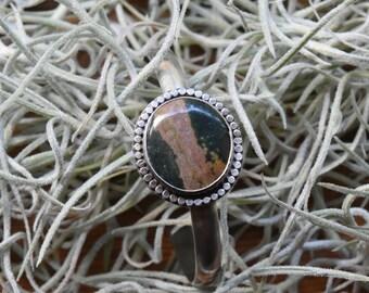 Ocean Jasper Cuff Bracelet