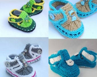 Frog Dog Cat Baby Sandals,  baby shoes, baby boots,baby slippers,baby gift, knitted baby booties, baby shower, newborn, shoes for babies,