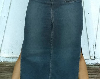 vintage Denim skirt By Union Bay Size 7