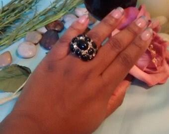 Black accent ring