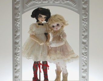 Cabinet for MSD two dolls