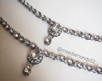 Silver stunning headpice