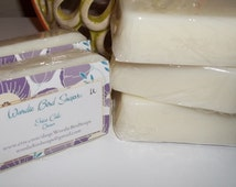 Handmade Lotion Bar 2.5 oz Shea Butter, Beeswax, Olive Oil and Sweet Almond