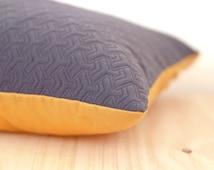 Geometric Cushion cover grey