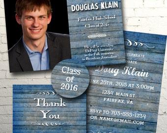 BluePlank Graduation Announcement