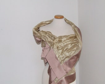 Silk scarves and Silk shantung